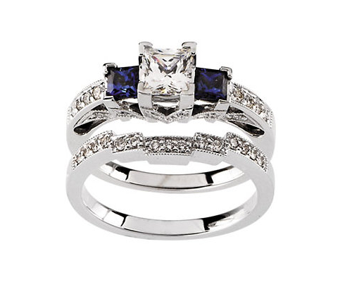 we look forward to meeting with you and working together with you to design and create that unique custom engagement rings for that very special moment - Sapphire And Diamond Wedding Rings